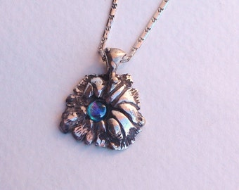 Blue Topaz Necklace with Sterling Silver