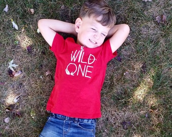 Wild one shirt-nature lover-1st birthday shirt-infant, toddler, youth tees-graphic tees-arrows-nature lover shirt-kids clothing-infants tee