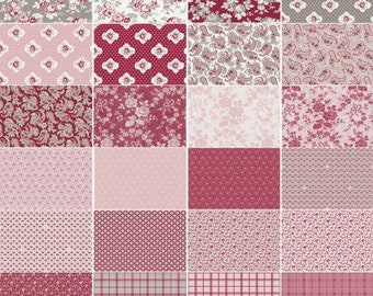 Rustic Romance 2 1/2 Inch Strips Jelly Roll, 40 Pieces, Gerri Robinson, Penny Rose Fabrics, Precut Fabric, Quilt Fabric, Cotton Fabric