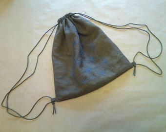 Backpack, Sashiko Style