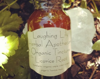 Organic Licorice Root Tincture 1oz