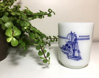 Vintage Anchor Hocking Bahamas Mug