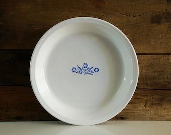 Cornflower Blue 9 inch Pie Plate, Corning Ware, P-309 pie pan
