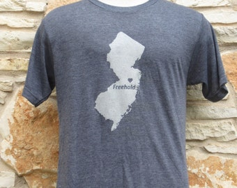 Freehold New Jersey Screenprinted Shirt