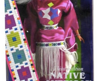 Dolls of the World Collection Third Edition Native Barbie - Vintage