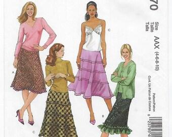 McCalls 4970 - MISSES Skirts / Sizes 4, 6, 8, 10