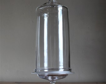 Large Bell Jar with Base