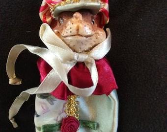 Katherine's Collection Wayne Kleski Mouse Chef Ornament