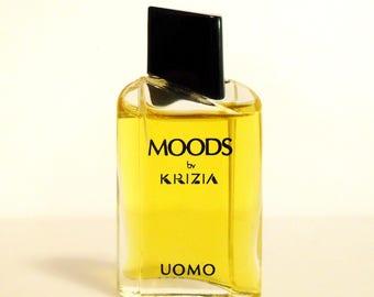 Vintage 1980s Moods Uomo by Krizia 0.20 oz Eau de Toilette Miniature Mini COLOGNE