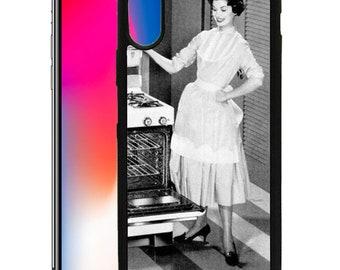 Vintage Retro 1950s Custom Designed Printed Case iPhone 6 6s 7 8 Plus & X VR01