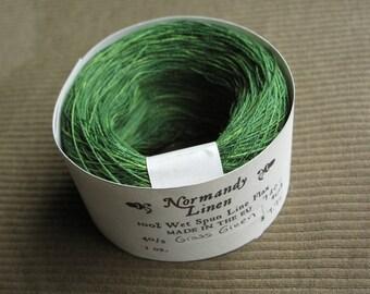 40/2 Grass Green Normandy Linen