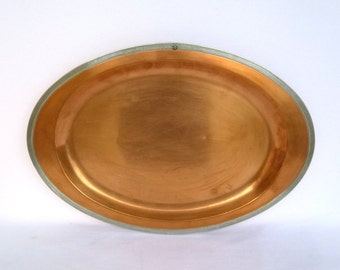 Vintage HANGING COPPER TRAY