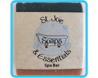Spa Bar Soap, Handmade Soap, All Natural Soap, Organic Saponified Olive Oil, Coconut Oil, Shea Butter, Fragrance Oil