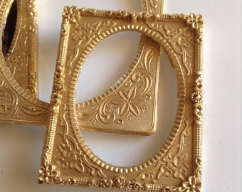 Faux ornate frame