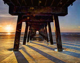 Sunrise at Tybee Island
