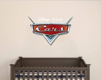 Cars logo  -  Wall Decal For Home Nursery Decoration