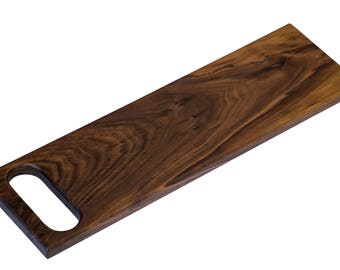 Premium Walnut Wood Bread Board and Serving Tray