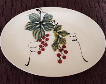 Vintage Oval Platter by Kendai