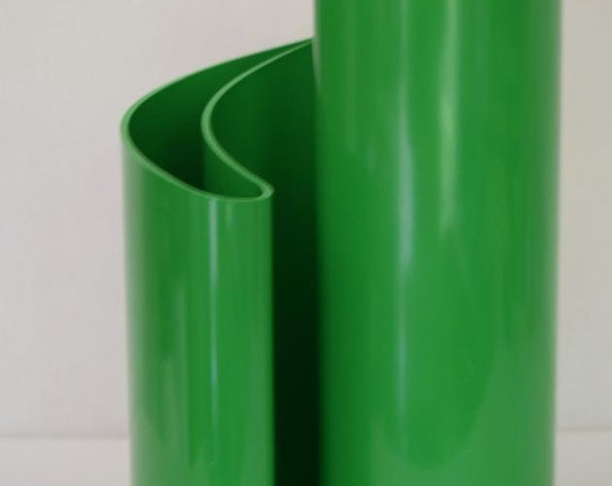 Rare Vintage MCM 1972 Giotto Stoppino Deda Vase Green Heller Designs Italy Style 403