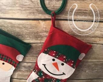 Horseshoe Christmas Stocking Holders Horseshoe Art Home Decor Unique Gift Hanger Mantle Fireplace