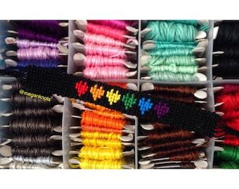 Rainbow Hearts Pride Bracelet