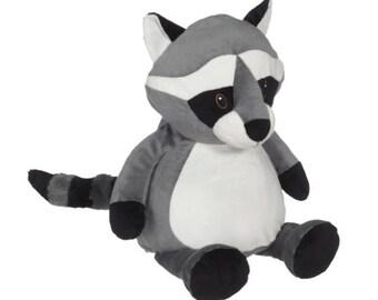 personalized baby gift | birth stat Elephant | Stuffed Raccoon | Birth Stat Gift |  Baby Shower Gift | Baby girl gift | Baby boy gift