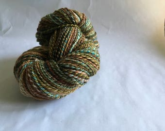 Handspun superwash BFL wool yarn