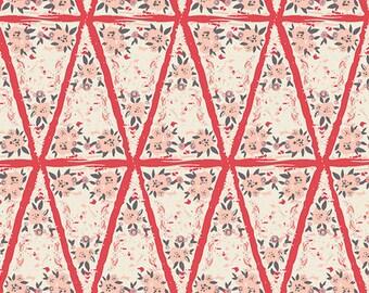 Winnow Frock Dahlia - Hello Ollie - Art Gallery Fabrics - Organic Cotton - Poplin by the Yard