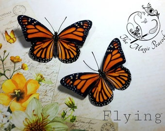 Monarch 3D Butterfly decoration/decal. mega pack, car stickers