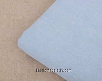 Denim Cotton Fabric Denim Fabric Light Blue Denim Fabric- 1/2 Yard