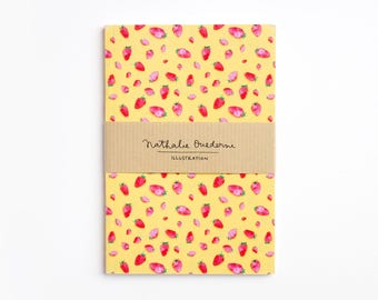 small notebook, Notebook, pocket notebook, pattern notebook, pocket journal