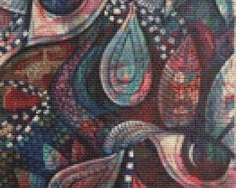 Cross Stitch Kit, Pamela Varacek Rushing Our Souls Out Of The Sleeping  Modern cross stitch, Bird Needlecraft Set