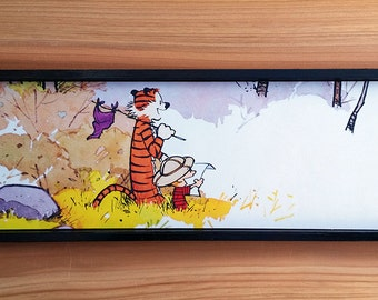 Calvin and Hobbes Explorers Print - NO FRAME - Devinethemis
