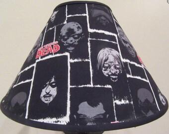 Walking Dead Zombie Lamp Shade