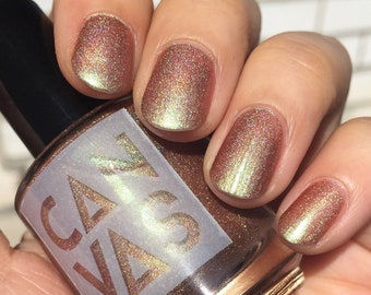Nothin At All by CANVAS lacquer - shifty holographic bronze