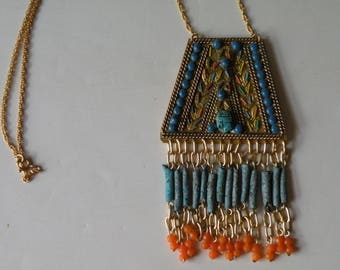 Scarab Egyptian necklace