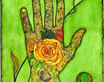 Hand of Blodeuwedd card