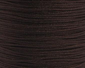 Nylon thread 0,8mm brown 10m