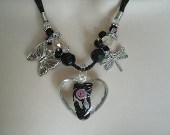 Victorian Garden Necklace, victorian jewelry edwardian jewelry neo victorian jewelry art deco jewelry renaissance art nouveau gothic goth