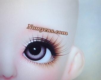 BJD eyelash : Strong coco  brown