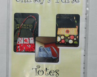 Pattern- Shirley's Purse -Totes by Sandy #2270