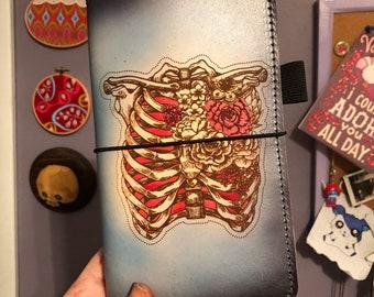 Ribs in Bloom Travelers Notebook TN