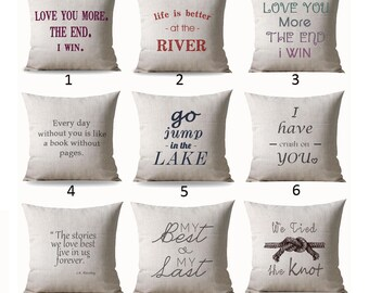 custom pillow covers custom throw pillow custom pillow case custom cushion cover custom pillowcase custom quote pillow cover custom gift