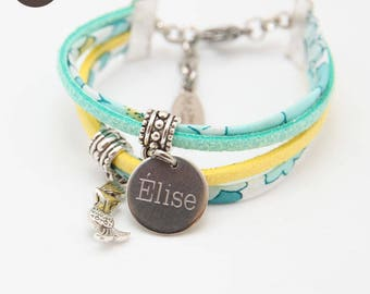 Bracelet Liberty Betsy Lemon Mint girl