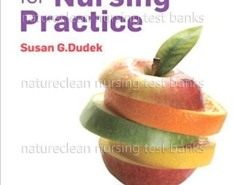 Test Bank for Nutrition Essentials for Nursing Practice 7th edition Dudek