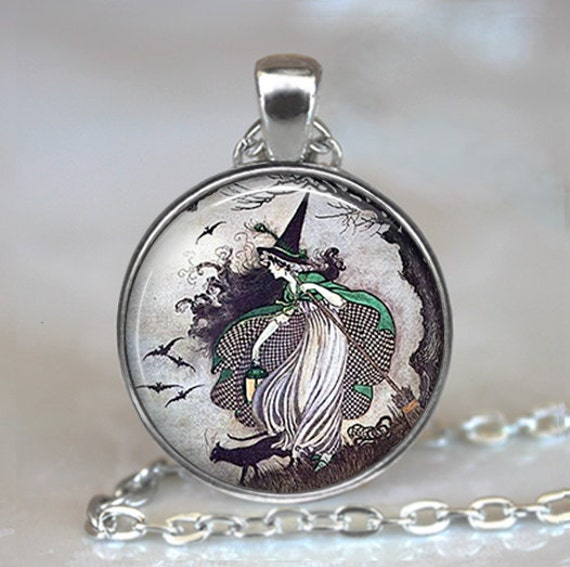 Fairy tale witch pendant witch necklace witch jewelry aloadofball Gallery