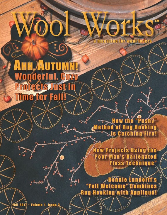 Wool Works Magazine  2017 Fall Issue