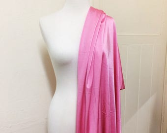 Swimwear Fabric // Candy Pink // Nylon Lycra