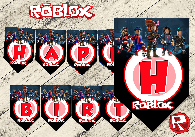 roblox banner robloxroblox birthdayroblox partyroblox
