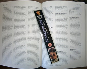 Comedy Classics Doc Hollywood Michael J. Fox Men In Black Police Academy Recycled VHS spine bookmark Only ONE of each bookmark available